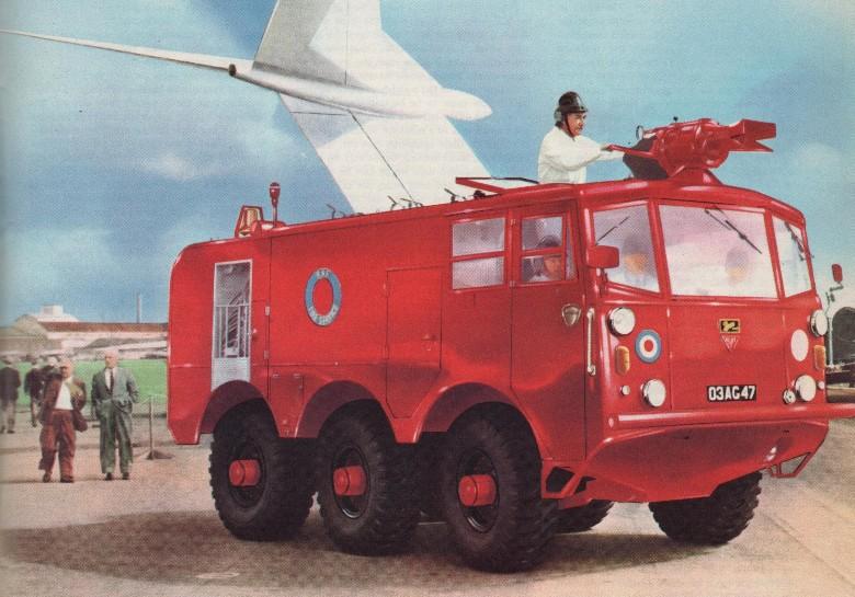 FV-651 Mk 6 Alvis Salamander Crash Tender 20mm Ace 1//72